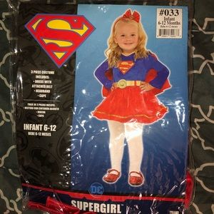 Super Girl Infant Halloween Costume